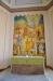 Muralmålningen föreställer Jesu bergspredikan