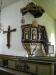 Predikstol från 1700-talet