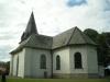 Kyrkan sedd från öster