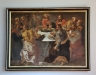 En av oljemålningarna i kyrkan