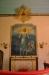 Altartavlan från 1951 är målad av Sigrid Oxenstjärna- Aminoff