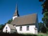 Åkers kyrka i slutet av 90-talet. Foto: Åke Johansson.