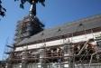 Kyrkan yttre renoveras nu