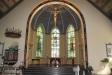 dopfunten och altaret.