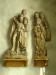 Altarskåpets figurer renoverades för några år sedan.