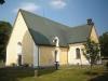 Från den här sidan ser kyrkan ganska liten ut. Foto:Bertil Mattsson