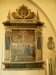 Epitafium över Mauritz Göransson Laxman d.1611 h.h Christina Rommel d.1592  två döttrar