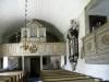 Orgel från 1876 och epitafium över Lars Eriksson Stormhatt