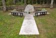 Minneslunden på nya kyrkogården