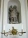 Dopbordet från 1600-talet står i Drakenhielmska koret