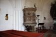 Predikstolen från omkring år 1625.