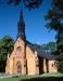 Taxinge kyrka på 90-talet. Foto: Åke Johansson.