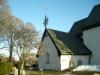 Snygg vindflöjel på sakristian