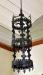 Kopia av den treringade ljuskrona som finns på Historiska muséet