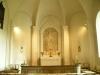 Altartavla från 1935 målad av Alf Munte.Ramen är från 1896.