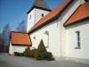Kyrkan sett från väster