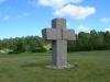 Det stora stenkorset på nya kyrkogården