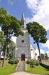Orgelfasaden är samma som fanns 1803 då Pehr Schiörlin byggde orgeln