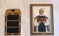 Målning föreställande kyrkoherde Hilmer Ahreborg