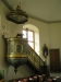 Orgelfasaden är från 1884 med ett nytt verk som sedan ombyggts 1982