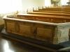 Altarringen står nu längst bak i kyrkan (vem vet