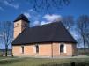 Gräve kyrka på 90-talet. Foto: Åke Johansson.