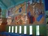 Ena långväggens målningar.