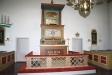 Altarpredikstolen av Anders Högström och tresidig altarring.