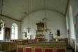 Predikstolen över altaret