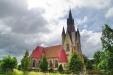 Håslövs kyrka juli 2015