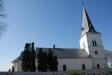 Görslövs kyrka från andra sidan