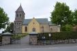 Bilden är tagen 2013-09-08. Tyvärr var kyrkan stängd vid mitt besök.