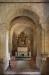 Koret och absiden med de lite ojämna bågarna.