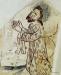 Johannes döparen faller ner och tillber Kristus