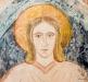 Kristusfiguren blev delvis ommålad på 1920-talet.