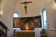 Altaruppsats och triumfkrusifix