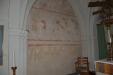 De spännande frescomålningarna framme vid koret