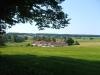 Från kyrkan har man en underbar utsikt över landskapet.