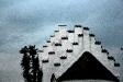 Vackert tak på Hannas kyrka