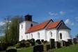 En annan vinkel på kyrkan i Fågeltofta