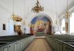 Medeltida runristad gravhäll vid Lösens kyrka