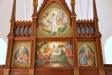 Fyra altarmålningar av Gunnar Torhamn från 1956