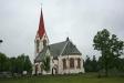 Gödestads färgglada kyrka