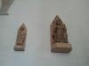 Medeltida träskulpturer.