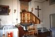 Predikstolen med intarsiadekor från 1630.
