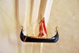 ett vikingaskepp som votivskepp är ovanligt