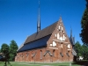 S:t Laurentii kyrka på 90-talet. Foto: Åke Johansson.
