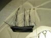 Votivskepp i form av en fregatt