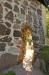 En intressant port genom kyrkans gavel