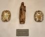 En medeltida madonnaskulptur
